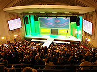 AVEDA CONGRESS 2008会場風景