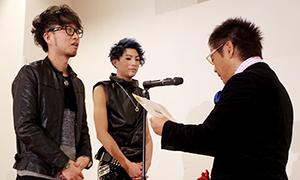 KOZO w AVEDA 松屋銀座店の明地はトータルファッションの部の第六位に入賞!
