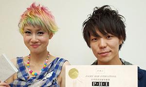 KOZO w AVEDA 松屋銀座店の川上もジャーナル賞!新美容出版賞を受賞!