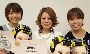KOZOのフレッシュな三人組がデザインワインディング部門の上位を独占!