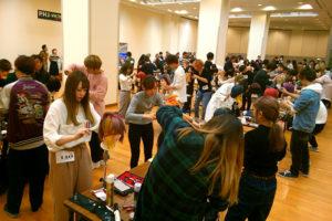 200名を超える参加者で、会場の熱気は最高潮!