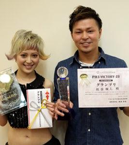 そしてTONY TANAKA STUDIO KOZOの店長、佐伯がグランプリを獲得しました!